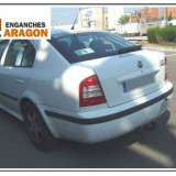 Carlig remorcare auto Skoda Octavia 1 Tour