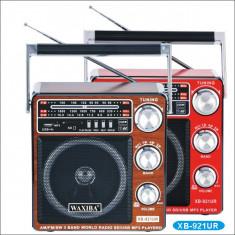 Aparat radio, Analog - Radio cu MP3/USB/SD WAXIBA XB-921UR WORLD RECEIVER