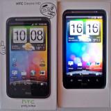 HTC DESIRE HD stare ff buna, aspect si functionare 10/10, necodat, full box!!!! - Telefon mobil HTC Desire HD, Negru, Neblocat
