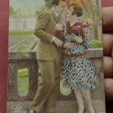 carte postala - interbelica - indragostiti !!!!