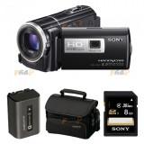 Camera video Sony FullHD Handycam, 16GB, Black, Hard Disk, 8-8.90 Mpx, CMOS, Peste 40x, 2 - 3