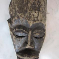 Arta din Africa - MASCA ANTICA AFRICANA DIN LEMN