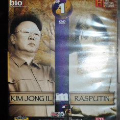 KIM JONG IL /RASPUTIN - Film documentare, DVD, Romana