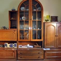 Set mobila living - Mobila sufragerie/living lemn masiv