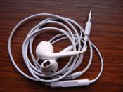 Casti iPhone 5 / Earphones Earpods with remote and mic for iPhone 5 4S iPod Touch foto