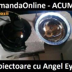 Angel eyes Auto, Universal - NOU !! Proiector Cu Angel - Eyes - Ideal Logan - Sandero - Ducato -- Numai 69 lei setul !! ---- CADOU ODORIZANT STICLUTA ----