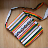 Geanta dama, noua, din lana de lama, handmade, originala Peru, CADOU ZIUA INDRAGOSTITILOR / VALENTINE'S DAY, 8 MARTIE - Geanta handmade