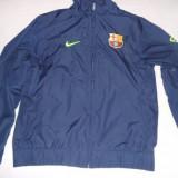 TRENING NIKE F.C. BARCELONA - Trening barbati Nike, Marime: L, Culoare: Albastru, Poliester