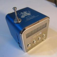 Boxe Telefon - Boxa portabila acumulator radio fm si MP3