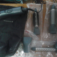 Vand/schimb Trusa de coafat Remington AS7050 Volume and Curl Airstyler noua, nefolosita, schimb cu rama foto - Ondulator de Par