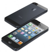 Replica iPhone 5 Dual Sim cu LOGO , Display 4'' Poze Reale foto