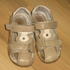 Sandale copii, Baieti - Sandale baieti piele nr 31, interior 18.5 cm