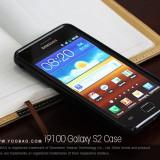 Husa TPU 2 in 1 + Folie Protectie Samsung Galaxy S2 i9100 by Yoobao Originala Black - Husa Telefon