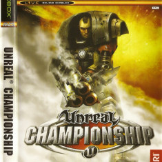 Jocuri Xbox Atari, Actiune, 18+, Single player - JOC XBOX clasic UNREAL CHAMPIONSHIP ORIGINAL PAL / STOC REAL / by DARK WADDER