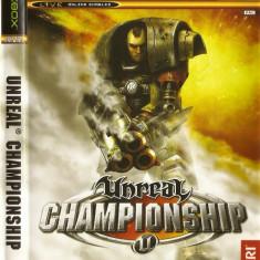 JOC XBOX clasic UNREAL CHAMPIONSHIP ORIGINAL PAL / STOC REAL / by DARK WADDER - Jocuri Xbox Atari, Actiune, 18+, Single player