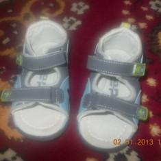 Sandale de baieti - Sandale copii, Marime: 23, Albastru