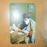 Carte postala Changeur Juif 1911