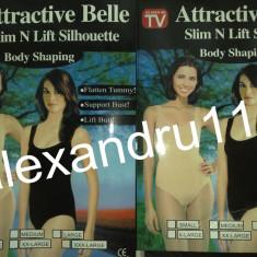 Body dama - Attractive Belle Body corset dama slabit ingustare talie solduri S M L XL XXL XXXL bej si negru Pret 15 lei