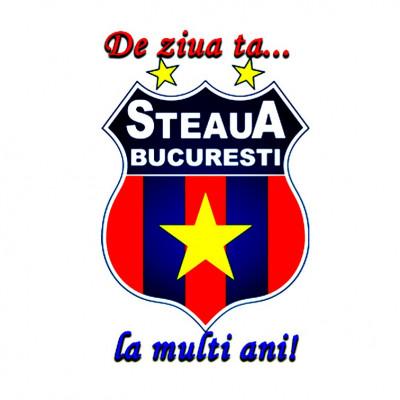 ornament comestibil pentru tort cu Steaua, Dinamo, Rapid, etc (vafe tort si zahar)) foto