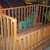 Patut lemn pentru bebelusi - Patut lemn masiv bebe