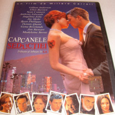 CAPCANELE SEDUCTIEI - Gillian Anderson / Ryan Phillippe - DVD Film - Film thriller