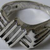 Inel argint - Inel vechi din argint (10) - de colectie