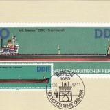 2361 - Germania DDR carte maxima 1982