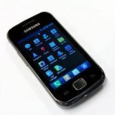 Samsung Galaxy Gio - Telefon mobil Samsung Galaxy Gio, Negru