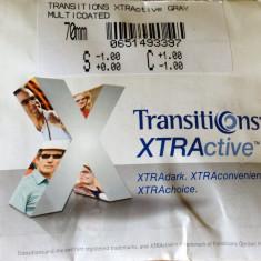Lentile ochelari - Lentile heliomate Transitions Xtractive gri / lentile ce se inchid in masina