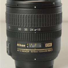 Nikon 18-70mm f/3.5-4.5G ED IF AF-S DX Nikkor Zoom Lens - Obiectiv DSLR