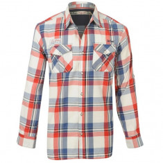 Camasa Lee Cooper - Red Check - Camasa barbati Lee Cooper, S, Maneca lunga