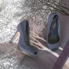 Pantofi dama, Marime: 38, Bleumarin - Pantofi eleganti Bershka