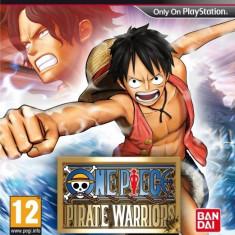 PE COMANDA One Piece Pirate Warriors PS3 - Jocuri PS3 Namco Bandai Games, Role playing, 12+, Single player