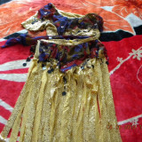 Costum oriental - Costum dans, Culoare: Galben