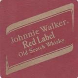 Cartonas de colectie - Suport de pahar / Biscuite RED LABEL