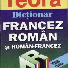 DICTIONAR FRANCEZ-ROMAN SI ROMAN-FRANCEZ DE UZ SCOLAR de SANDA MIHAESCU-CIRSTEANU SI IRINA ELIADE