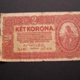 Bancnota Straine - Ungaria 2 korona 1920 ianuarie 1 Budapesta, 2aa017