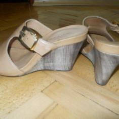 Sandale noi - Sandale dama Benvenuti, Marime: 37, Culoare: Bej, Bej
