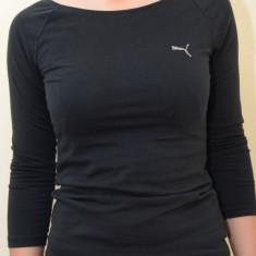Bluza dama Puma 813840, ORIGINALA, bumbac, negru, Marime: L, XL, Maneca lunga, Casual