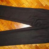 PANTALONI H&M DIN IN SUPERBI~MARIMEA W34(TALIE-90CM, LUNGIME -111CM) - Pantaloni barbati, Culoare: Negru, Negru