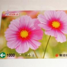 Cartela / Card Japonia - ARTA, FLORA, FLORI -   2+1 gratis toate licitatiile - RBK2382