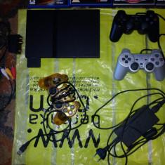 PS2+9 jocuri originale+USB Macro Kit Joystick - PlayStation 2 Sony