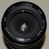 Obiectiv DSLR - VAND OBIECTIV REVUENON-AUTO MC 2.8 F=35MM, M42, NOU