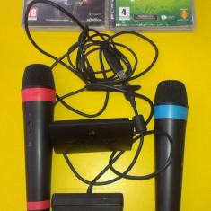Consola - PS3 SINGSTAR + EYE CAMERA