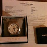 Ceas TIMEX WEEKEDER INDIGLO T2N635 - Ceas barbatesc Timex, Elegant, Quartz, Inox, Analog