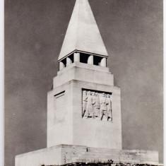 Carti Postale Romania dupa 1918, Necirculata - Monumentul rascoalei taranilor de la Bobalna, RPR, raionul Dej, regiunea Cluj