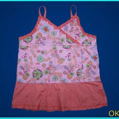 IMPECABILA _ Bluza / bluzita de vara, cu bretele, KIDKANAI _ fete   8 ani, Culoare: Roz