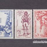 Timbre Romania - Colonii franceze Martinica 1941 serie MNH