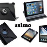 Husa stand piele rotativa noua Ipad MINI + bonus folie protectie ecran - Husa Tableta