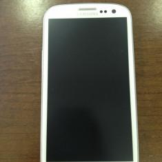 Samsung galaxy S3 ALB varianta cu 2GB ram + 4G !! - Telefon mobil Samsung Galaxy S3, 16GB, Neblocat, Quad core